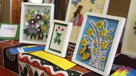 Quilling at The Haven